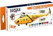 Hataka 8 x 17ml CS98 Lacquer Paint Set -  British SAR Service vol. 1