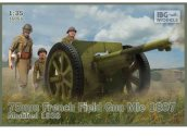 IBG 1/35 35056 75mm French Field Gun Mie 1897 / 1938 Mod