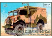 IBG 1/72 72015 Chevrolet C15A No. 13 Cab Australian Pattern Wireless/Signals