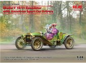ICM 1/24 24026 Model T 1913 Speedster w/ Drivers