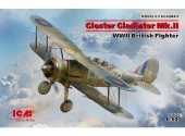 ICM 1/32 32041 Gloster Gladiator Mk.II, WWII British Fighter