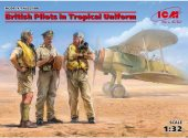 ICM 1/32 32106 British Pilots in Tropical Uniform (1939-1943)