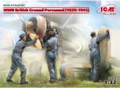 ICM 1/32 32107 WWII British Ground Personnel (1939-1945)