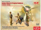 ICM 1/35 32110 Italian Pilots in Tropical Uniform (1939-1943)