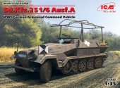 ICM 1/35 35102 Sd.Kfz.251/6 Ausf.A, WWII German Armoured Command Vehicle