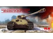 ICM 1/35 35364 Pz.Kpfw.VI Ausf.B King Tiger late production w/ full interior,