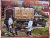 ICM 1/35 35513 - Studebaker US6 U4 w/ Medical Personnel