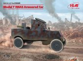 ICM 1/35 35669 Model T RNAS Armoured Car