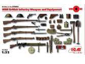ICM 1/35 35683 WWI British Infantry Weapon and Equipment