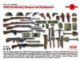 ICM 1/35 35688 WWI US Infantry Weapon and Equipment