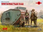 ICM 1/35 35708 WWI British Tank Crew 4 figures
