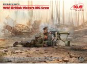 ICM 1/35 35713 WWI British Vickers MG Crew
