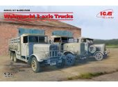 ICM 1/35 DS3508 Wehrmacht 3-axle Trucks