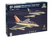 Italeri 1/72 1406 EF-2000 Eurofighter 100th Annv Gruppi Caccia (2 Kits)