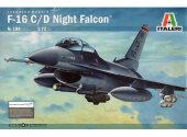 Italeri 1/72 188 F16 Night Falcon
