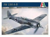 Italeri 1/48 2678 Focke Wulf Fw 190A-8 with etched parts