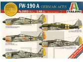 Italeri 1/48 2693 FW 190 A German Aces