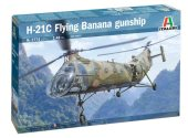Italeri 1/48 2774 H-21C Flying Banana GunShip