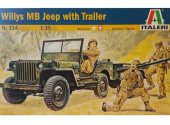 Italeri 1/35 314 Willys Jeep