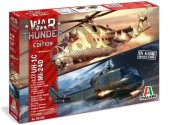 Italeri 1/72 35103 War Thunder UH-1C & MI-24D (2 kits)