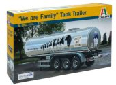 Italeri 1/24 3911 'We Are Family' Tank Trailer