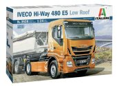 Italeri 1/24 3928 Iveco Hi-Way 480ES Low Roof