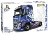 Italeri 1/24 3942 Volvo FH4 Globetrotter Medium Roof Show