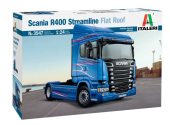 Italeri 1/24 3947 Scania R400 Streamline Flat Roof