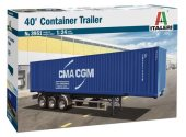 Italeri 1/24 3951 40' Container Trailer