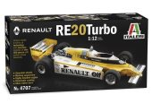 Italeri 1/12 4707 Renault RE20 Turbo F1