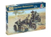 Italeri 1/72 6121 WWII German Motorcycles