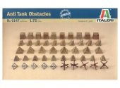 Italeri 1/72 6147 Anti-Tank Obstacles