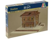 Italeri 1/72 6162 Railway Train Station
