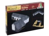 Italeri 1/72 6176 La Haye Saint Stables - Waterloo