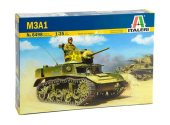 Italeri 1/35 6498 M3A1 Stuart Light Tank