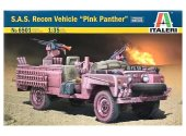 Italeri 1/35 6501 S.A.S. Recon Vehicle Pink Panther
