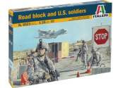 Italeri 1/35 6521 Road Block and U.S. Soldiers