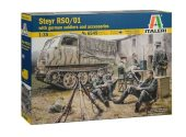 Italeri 1/35 6549 RSO/01 w/ Germand Soldiers and Accessories