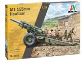 Italeri 1/35 6581 M1 155mm Howitzer with Crew