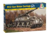 Italeri 1/72 7076 M12 Motor Gun Carriage