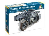 Italeri 1/9 7406 Zundapp KS 750 with Sidecar