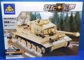 Kazi - 82011 Tiger Tank 995pcs - Campatible Building Blocks