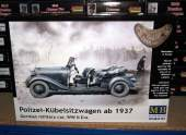 Master Box 1/35 35101 German Military Car, Typ 170 V, Polizei-kubelsitzwagen WWII, 1937