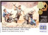 Master Box 1/35 35152 Soviet Marines And German Infantry Hand To Hand Combat