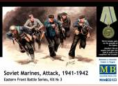 Master Box 1/35 35153 Soviet Marines Attack 1941-1942 - Eastern Front Battle Series Set3