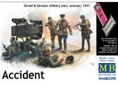 Master Box 1/35 3590 Accident -  Soviet and German Military, Summer 1941
