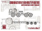 Model Collect 1/72 72125 Soviet MAZ 7911 Heavy Truck w/ M870A1 Semi Trailer