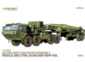 Model Collect 1/72 72166 USA M983 Hemtt Tractor With Pershing II Missile Erector Launcher New Version