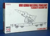Model Collect 1/72 72172 WWII German Wasserfall Ferngelenkle Railway