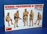 Miniart 1/35 35163 German Paratrooperes and Tankers Italy 1943 Date: 00's